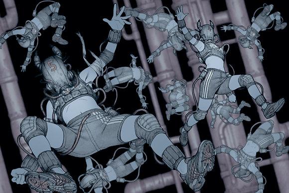 田中達之|「謎幻の機械展」 資料夾 機器人【d/art獨家】