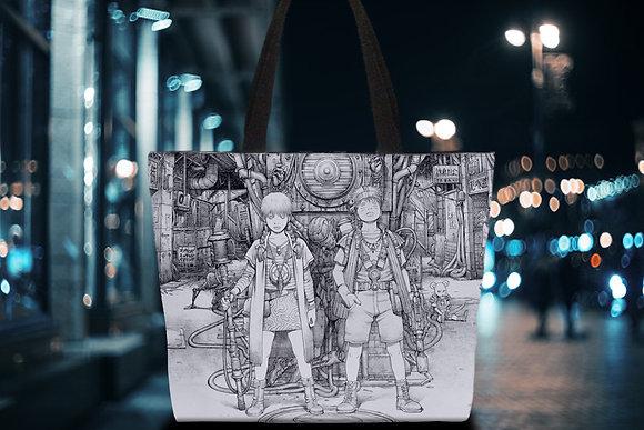 田中達之|「謎幻の機械展」 托特包 (單色)【d/art獨家】