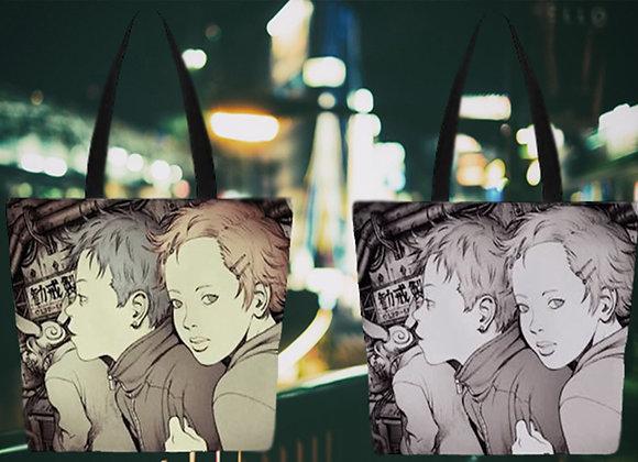 田中達之|「謎幻の機械展」 托特包 (褐色)【d/art獨家】