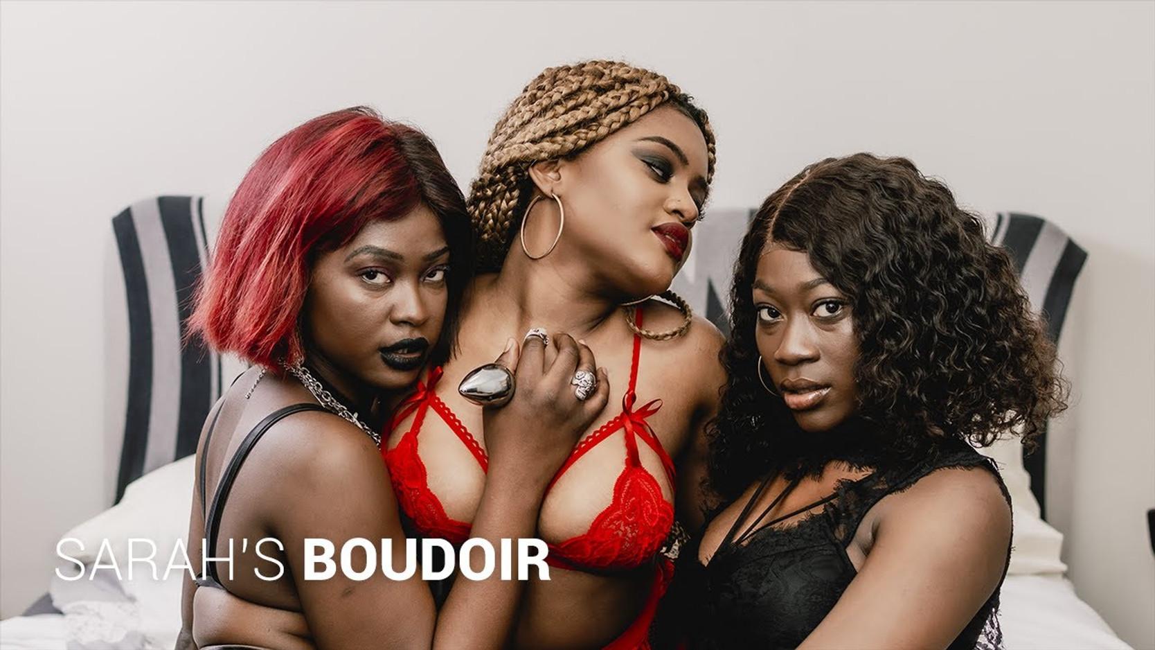 SARAH'S BOUDOIR - Photoshoot Bts (Lingerie line) Nudity 18+