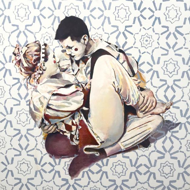 Jesters - Oil on Canvas .jpg