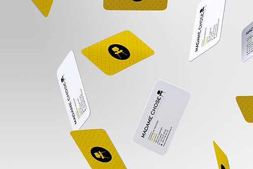 V-CARD PERSONNALISEE (10 unités minimum)