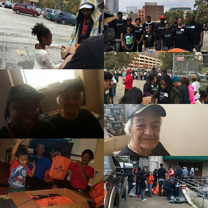 #hoodies4homeless  event was a success we served 196 homeless people in downtown Houston #nonprofit