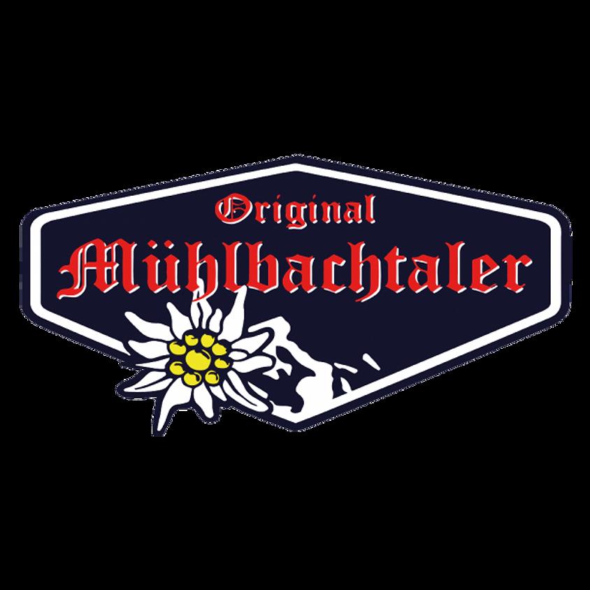 Die Original Mühlbachtaler live auf dem Eis und in der Kufenstubb