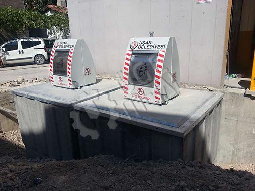 Installation ofUnderground Waste Container