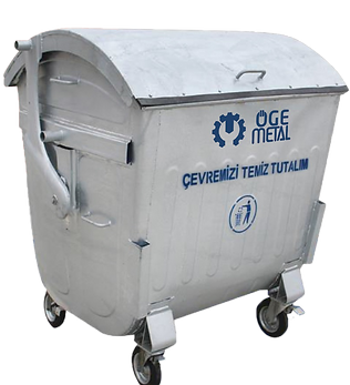 Galvanized Waste Contanier