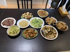 年夜飯 Chinese New Year's dinner