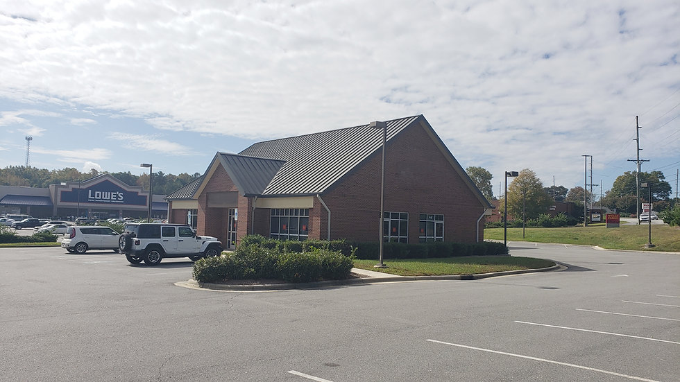 Former Bank Branch - Concord, NC