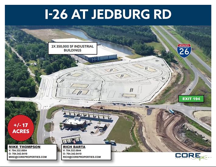 +/- 17 AC Development - Jedburg, SC / I-26