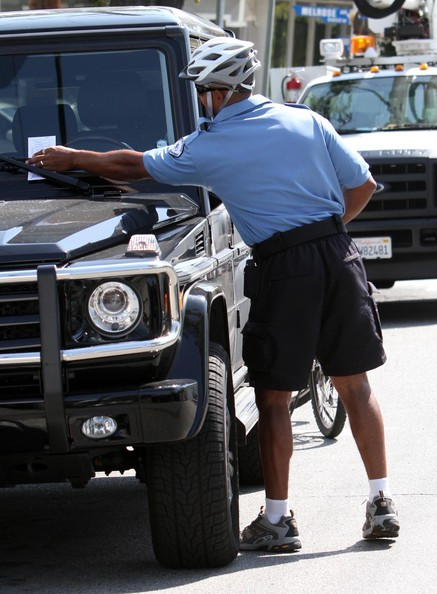 Local Man Terrified of Parking Cops
