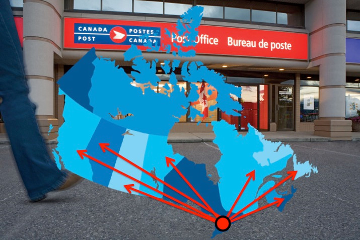 Canada Post Announces National Distribution Deal With Your Ward News
