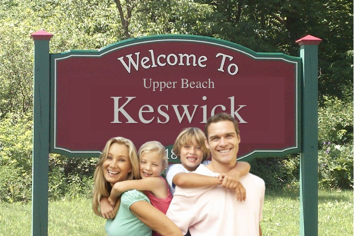 Realtors extend Upper Beach area as far North as Keswick Ontario