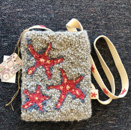 Crossbody pouch with canvas strap $150