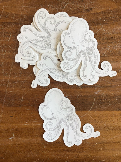 Octopus Stickers