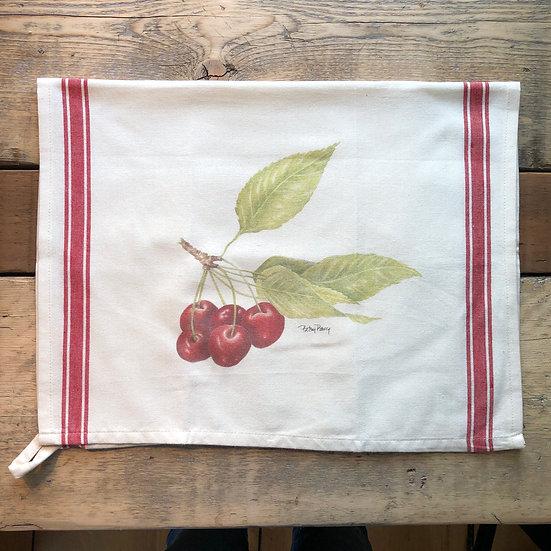 Cherries Flour Sack Towel