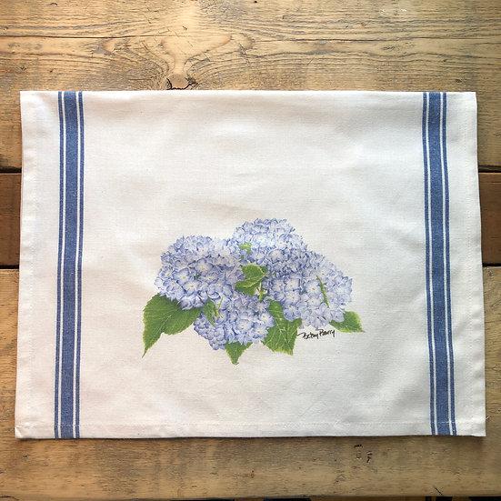 Hydrangea Flour Sack Towel