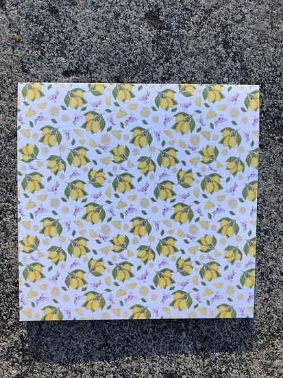 Lemons Notecard