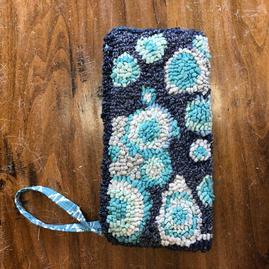 Wristlet, Blue Bubbles $135