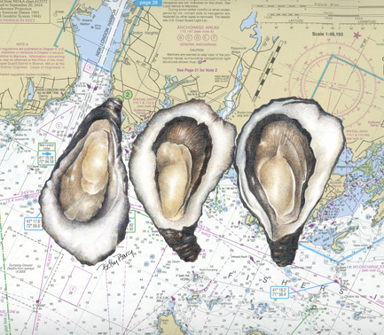 Oysters & Chart
