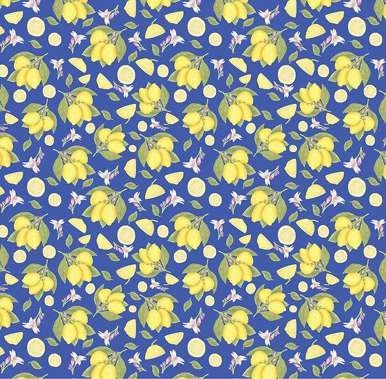 Lemons in Blue