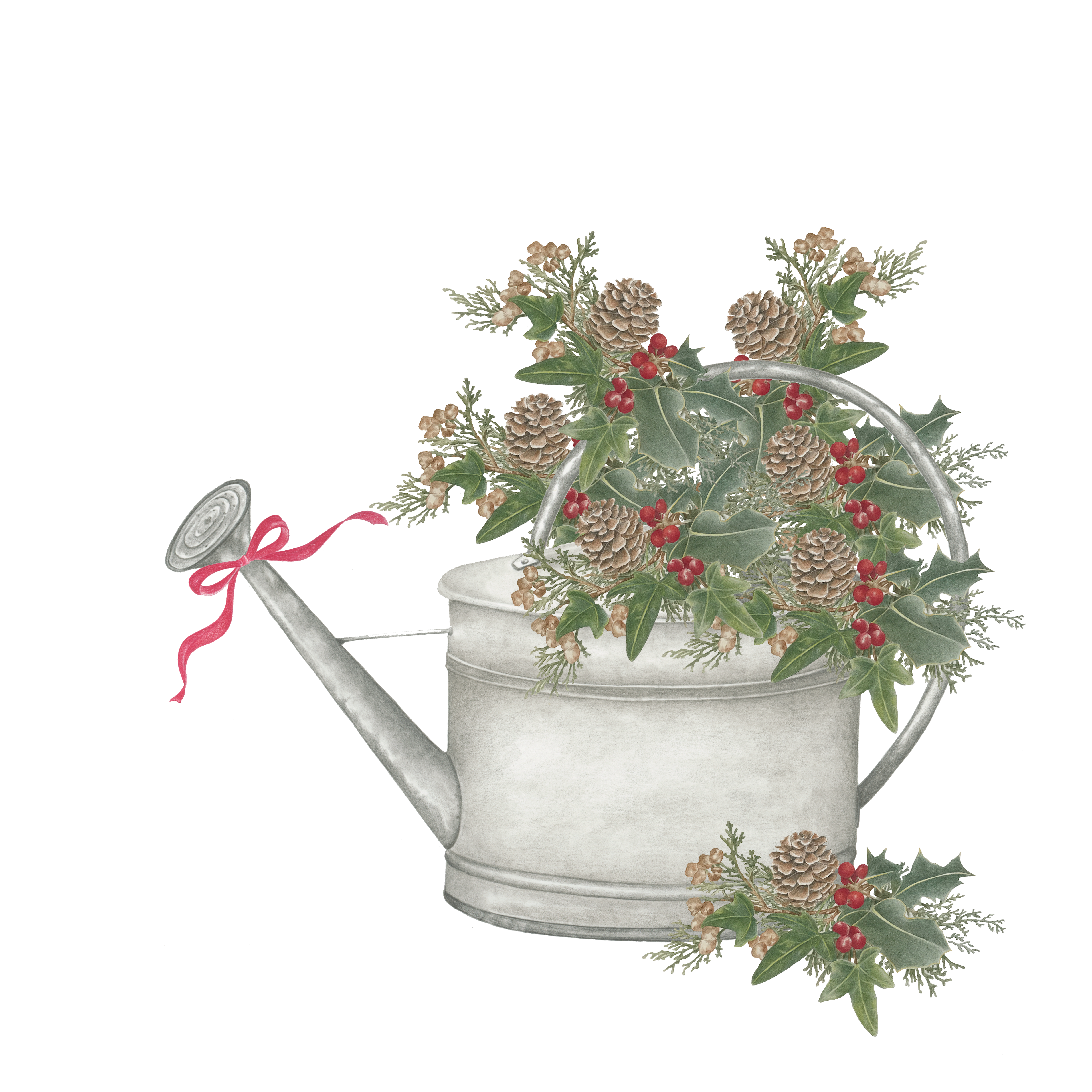 Holiday Watering Can
