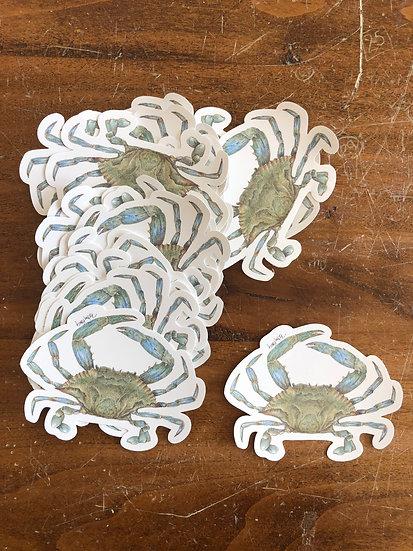 Blue Crab Stickers