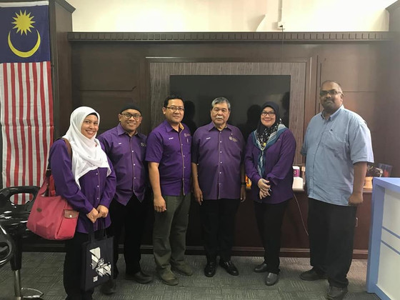 Industry talk by the President Elect and WiLat visit at Universiti Terengganu Malaysia