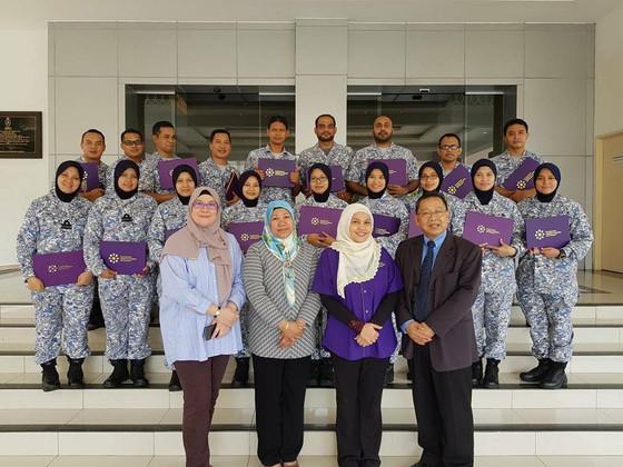 WiLat Greet and Meet at Royal Malaysian Navy