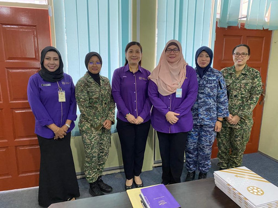 WiLAT Malaysia Visit to Ministry of Defense