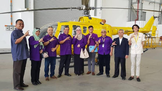 A video shooting session for Savoy Celebration at UK was carried out at MIAT, UniKL.