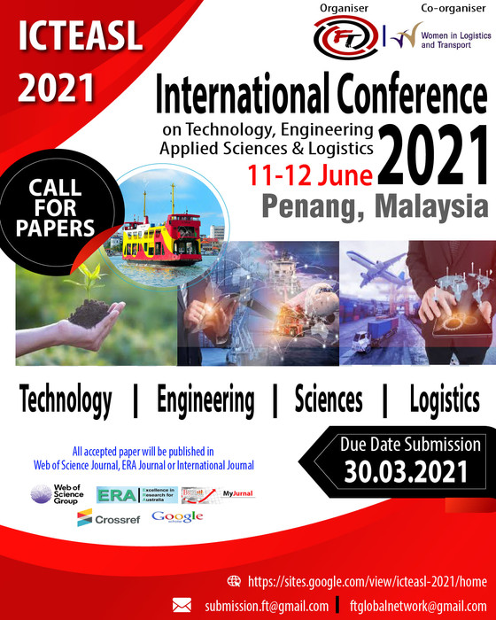 International Conference on Technology, Engineering, Applied Sciences and Logistics 2021