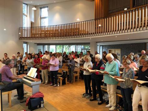 """Mitwirkende von """"Carmina Burana"""" fiebern ihrem großen Auftritt entgegen"""