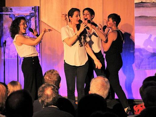 Weibliche Gesangsvirtuosität trifft auf a cappella