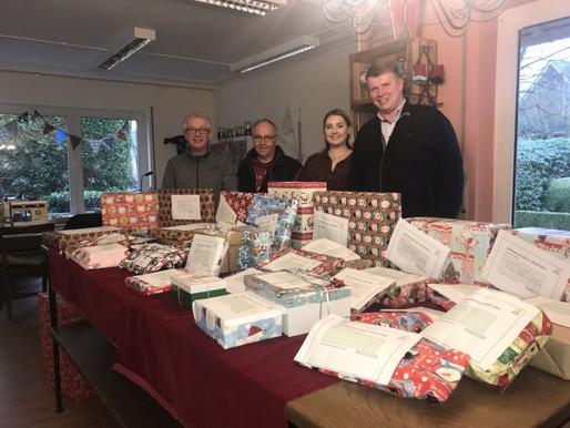 PHW-Gruppe beschenkt Tafel-Besucher in Visbek