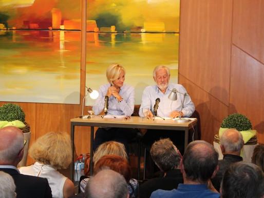 Gerster und Nürnberger sprechen über die Veränderungen in der Medienlandschaft