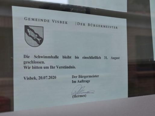 Sporthallen in Visbek schließen