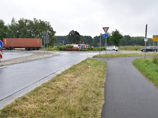 Kreisverkehr in Hogenbögen wieder für den Verkehr frei