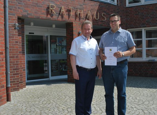Jörg Reinke zum Gemeindeamtmann befördert