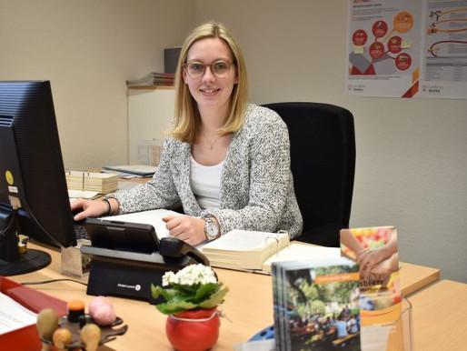 Anna Golk verstärkt das Team des Visbeker Rathauses