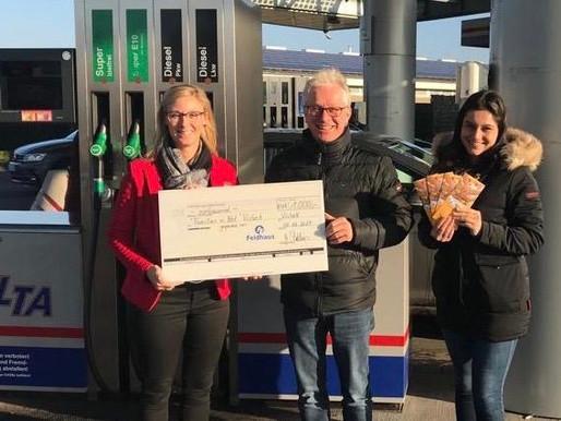 "1000 Euro für den Visbeker Fonds ""Familien in Not"""