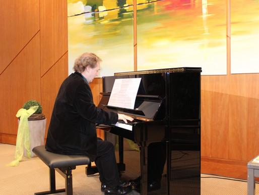 Die Erhellung der Künste - Pianist und Literat Hannes Sonntag in Visbek