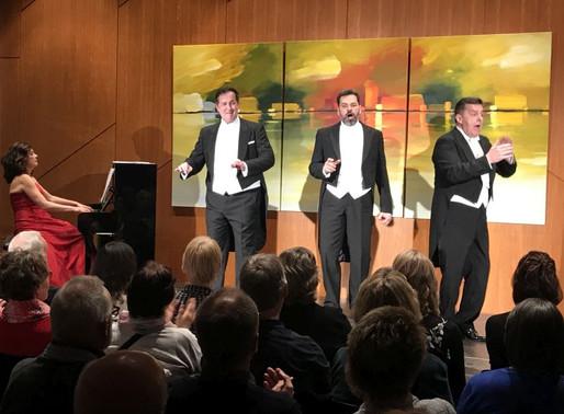 Drei Tenöre überzeugen als drei Charmeure das Visbeker Publikum