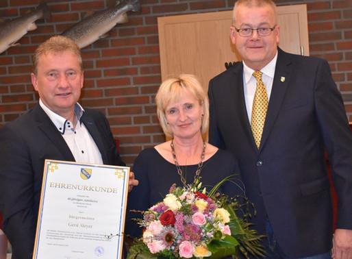 Gerd Meyer feiert 40-jähriges Dienstjubiläum