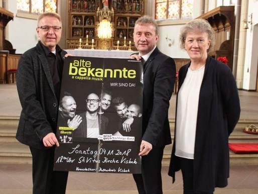 """""""Alte Bekannte"""" präsentieren neue Songs"""