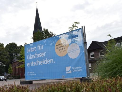 Deutsche Glasfaser will Rechterfeld und Hogenbögen ans schnelle Netz anschließen