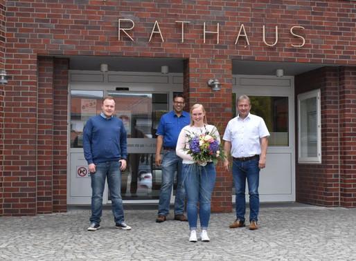 Sophia Bohmann absolviert erfolgreiche Ausbildung