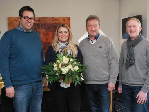Gemeinde Visbek verabschiedet Alina Scholz