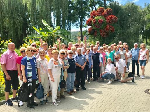 Mit dem Kulturkreis Visbek auf Reisen: von Bregenz über St. Gallen nach Mainau