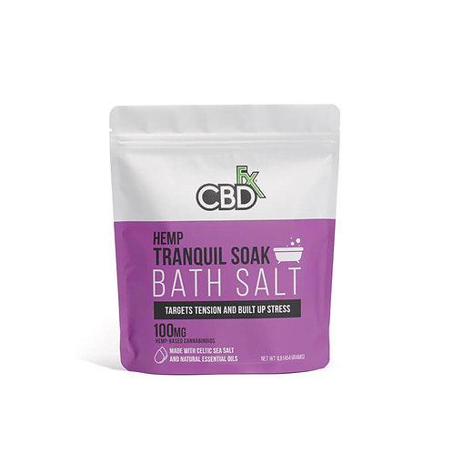 CBDfx Bath Salt 100mg