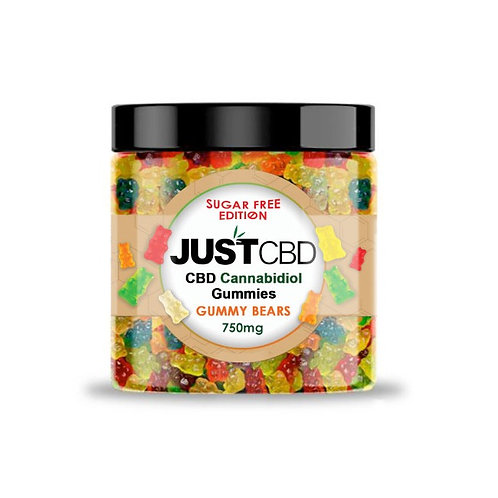 Just CBD Sugar Free CBD Gummies 750mg